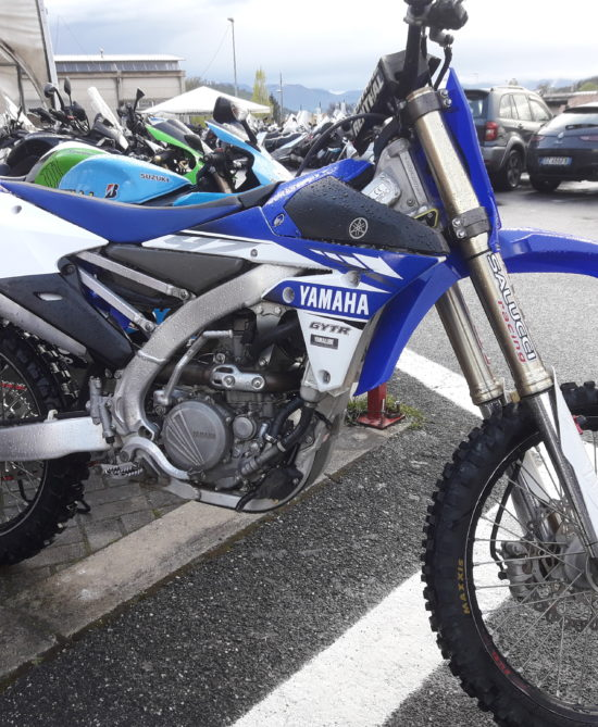 Moto usata Yamaha Yz 250 anno 2017