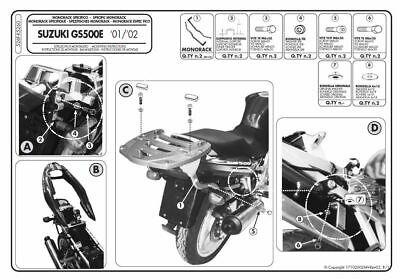 Portapacchi Suzuki GS500E